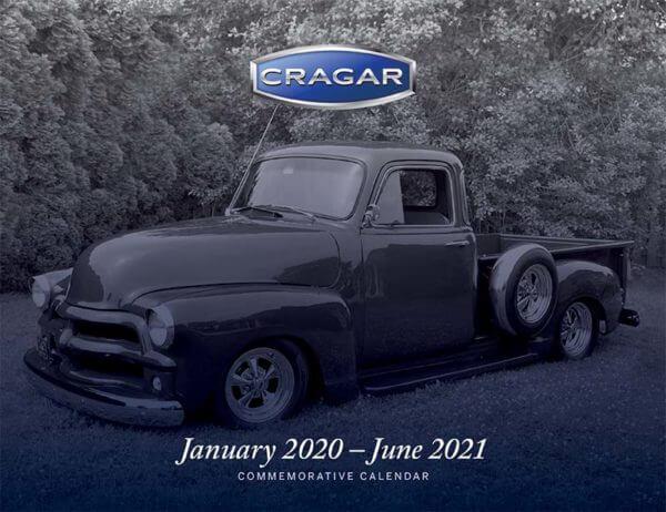 2020 Cragar 55th Anniversary Calendar