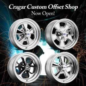 Cragar Custom Offset Wheels